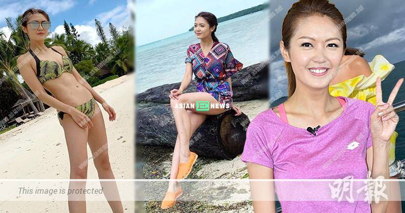 Toby Chan has no romantic encounter when filming at the beach
