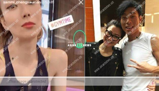Andy Hui finally appears and accompanies Sammi Cheng to train in the gym