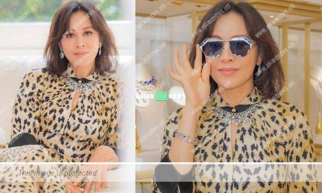 Carina Lau wears expensive jewellery that shows her elegant style