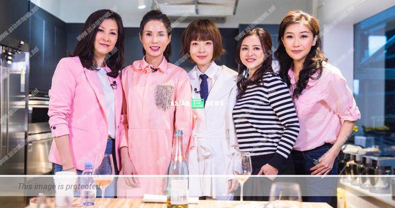 Carman Lee reveals her culinary skills; Angie Cheong and Flora Chan show their supports