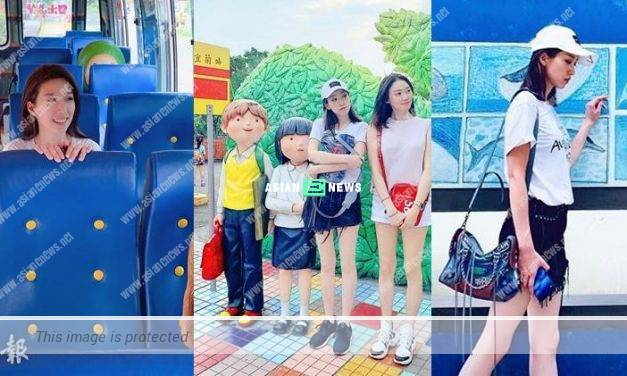 Elaine Yiu and Bonnie Chu went for holidays together in Taiwan