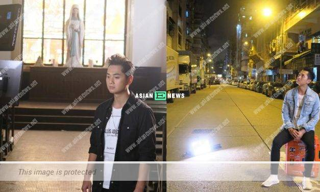Fred Cheng perspired heavily when shooting MV from day to night