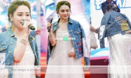 Gillian Chung's face becomes bigger and gains weight; Is she pregnant?