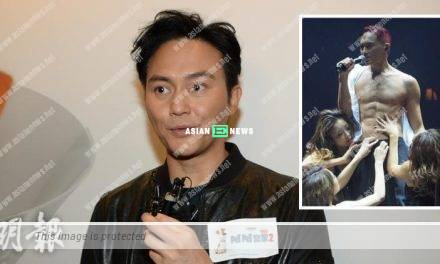 Julian Cheung is holding a concert in Hong Kong Coliseum in 2020