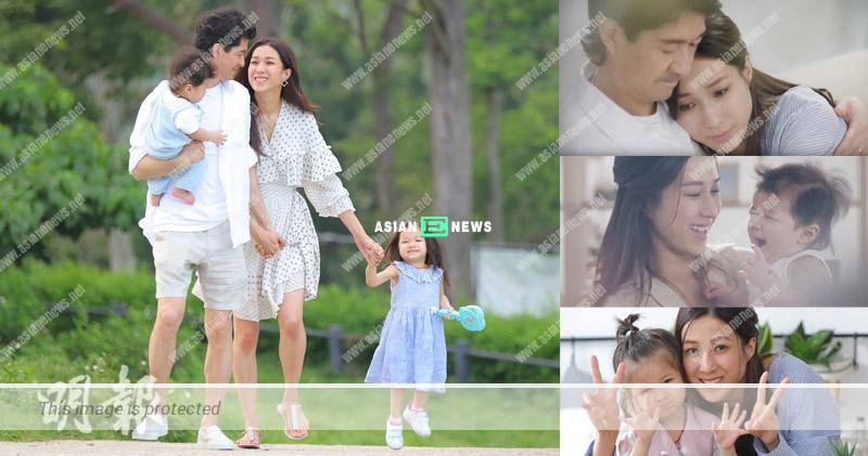 Linda Chung realises the hard pain of a mother; She shoots MV with her family