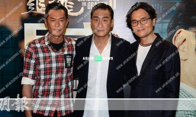 Tony Leung urged Louis Koo to get married; He said he enjoyed his carefree life