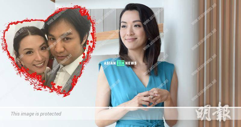 45 years old Alice Chan hopes to have a complete family in the future