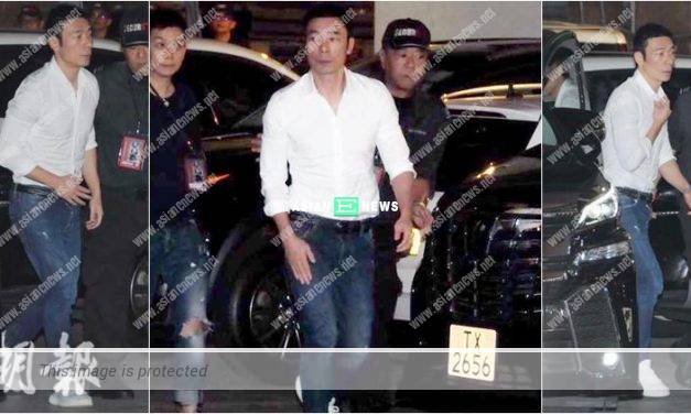 Many fans begun to shout when Andy Hui turned up at Sammi Cheng's concert