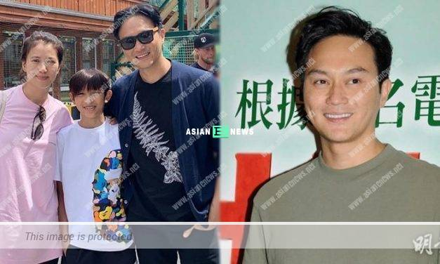 Julian Cheung took his son for rock climbing in Switzerland