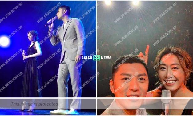 Benjamin Yuen and Nancy Wu sing together after 10 years later