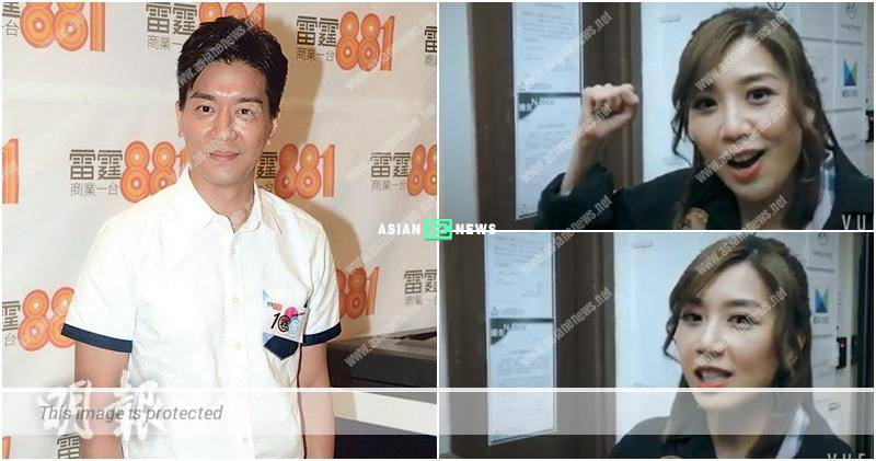 Mandy Wong urges everyone to support Chris Lai's show in Mandarin