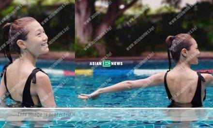 Chrissie Chau goes for swimming: It is the best method to reduce dehydration
