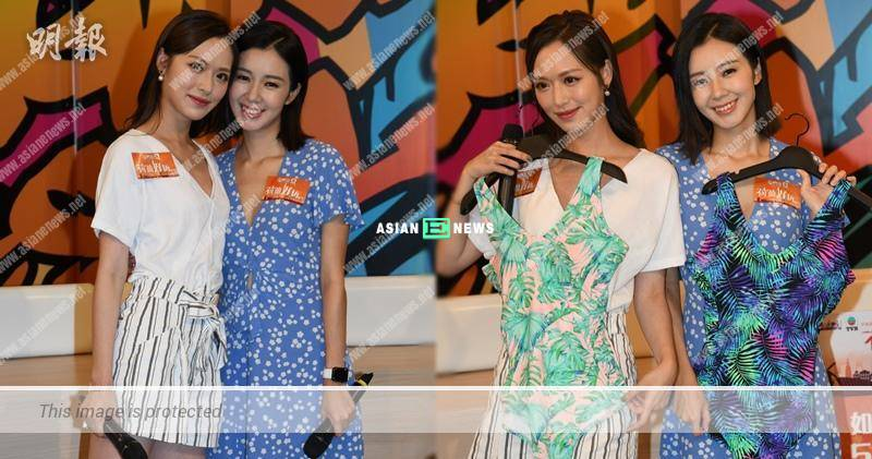 Louisa Mak does not compare her body figure with Crystal Fung: I know my limit