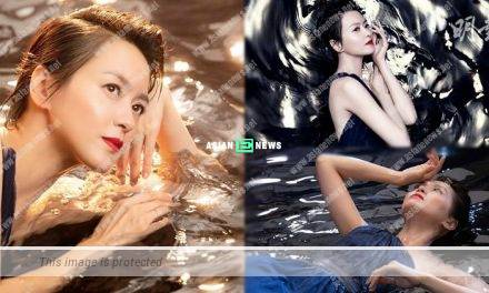 Gigi Leung soaked in the water for 4 hours when filming an advertisement