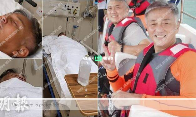 Hugo Ng had breathing difficulties when going for diving in Sabah