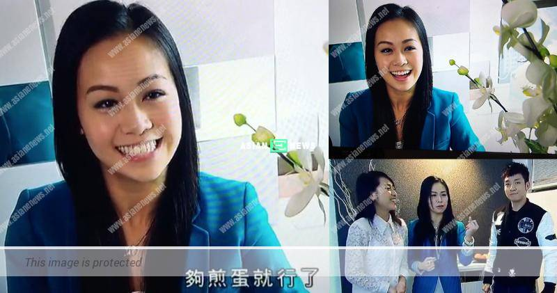 Making a comeback? Jacqueline Wong appears in TVB show after the scandal