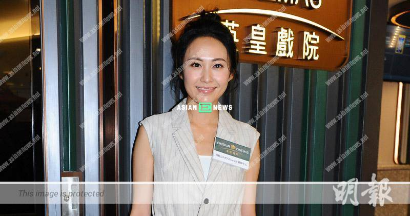 After Simon Yam's accident: Kathy Yuen is extra alert when working in China
