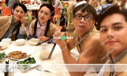 Is Katy Kung hinting that Rebecca Zhu behaved like a big shot?