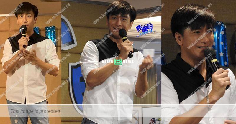 Kenneth Ma sings the love song emotionally; He cannot forget Jacqueline Wong?