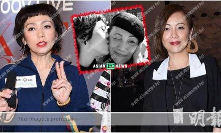 Kit Chan and Sheren Tang are good friends: She is a straightforward person