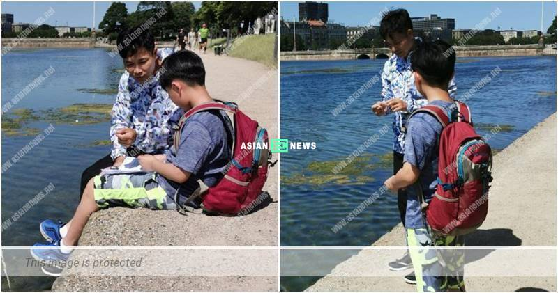 Roger Kwok takes his family for holidays to Denmark