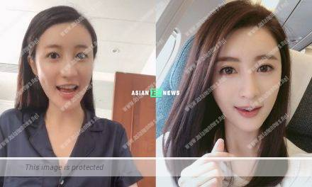 Rosina Lam shows her photo without make-up and shares her beauty secret