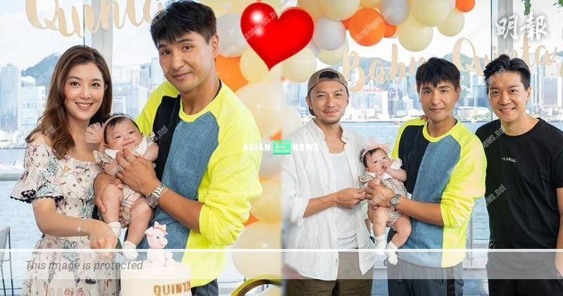 Ruco Chan resembles a loving father when carrying his daughter