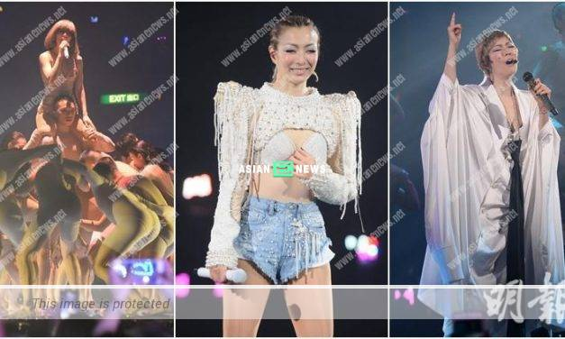 Sammi Cheng shared her thoughts after the concert
