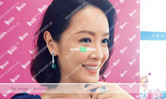 Anne Heung is adorned with beautiful and expensive jewellery