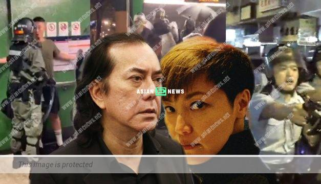 Anthony Wong was mad at the cops; Denise Ho suspected the police force was crazy