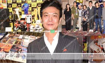 Chin Siu Ho made a mistake about his anniversary in the show business