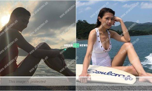 Chrissie Chau shared her old photo and won likes from the netizens