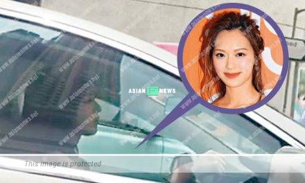 Crystal Fung was late for an event and drove the car at fast speed
