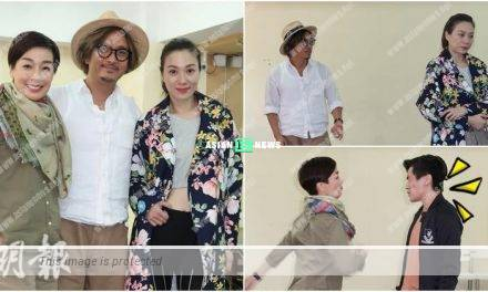 Elena Kong slaps Maggie Cheung 6 times consecutively in the stage play