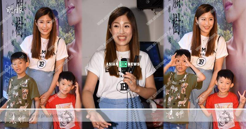 Janet Chow cried because her two sons were disobedient