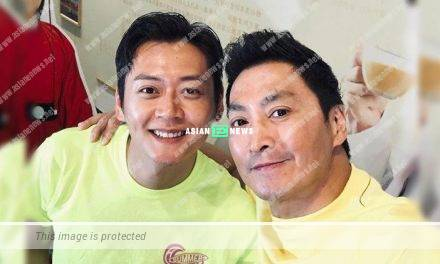 Owen Cheung believes it is fated when taking photo with Kenny Ho