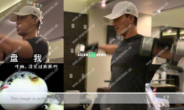 Raymond Lam undergoes rigorous training to keep fit