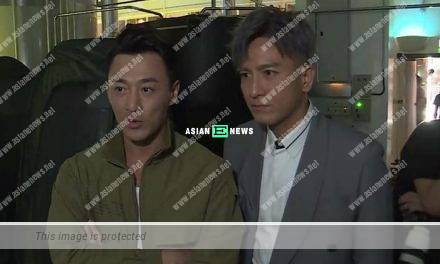 Line Walker 3 drama: Raymond Lam and Kenneth Ma filmed the preview clip together