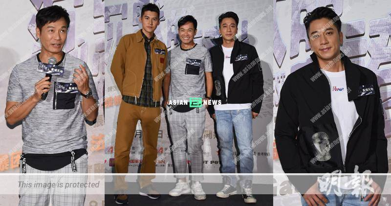 TV King Roger Kwok found it difficult to play his role in the new film