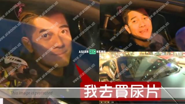 Hong Kong Protests: Aaron Kwok bought diapers for his daughter in Causeway Bay