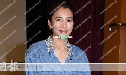 Anita Yuen perspired upon receiving a birthday gift from Julian Cheung