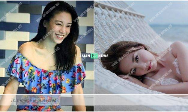 Who is sexier? Bernice Liu and Rebecca Zhu wore swimsuit to enjoy the summer