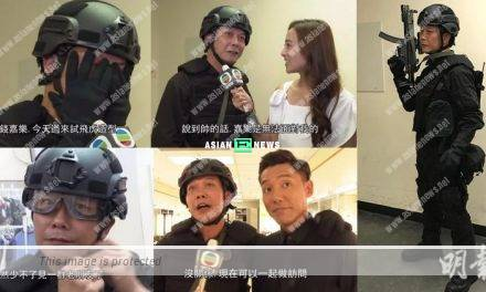 Chin Siu Ho films another TVB drama after 4 years later