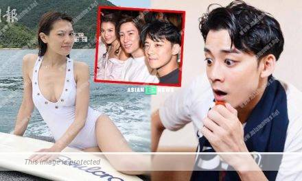 34-year-old Chrissie Chau dismissed about dating 29-year-old Dickson Yu