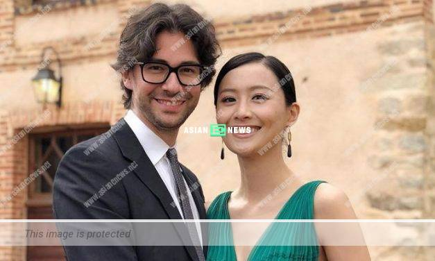 Fala Chen and her French husband attended a wedding and had fun in France