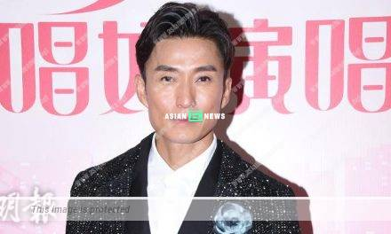 Joel Chan played the male lead; He felt happy the drama was finally airing
