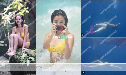 Louisa Mak shared sexy photo of herself in yellow bikini