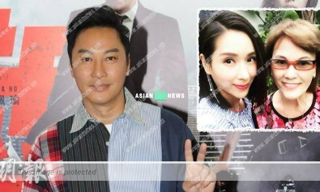 Patrick Tam films kissing scene with Kristy Yang and feels shy when seeing her mother