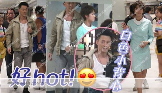 Line Walker 3 drama: Raymond Lam perspired heavily and removed his jacket