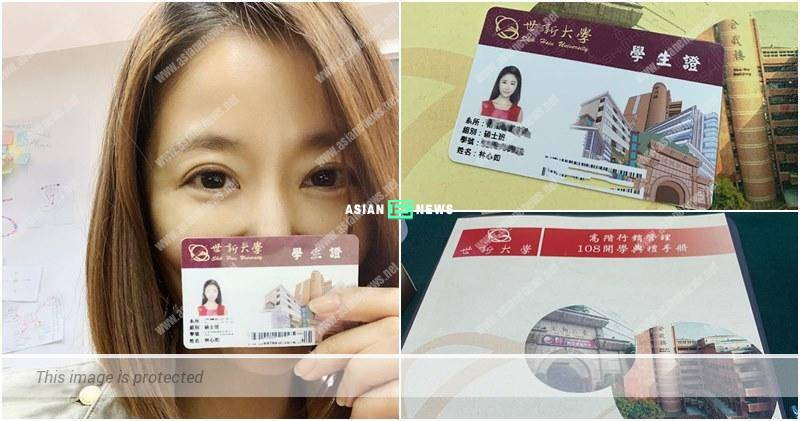 43-year-old Ruby Lin pursues Master's Degree because of her daughter